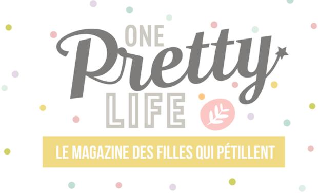 Visuel du projet Lancement d'un joli magazine gratuit: One pretty life