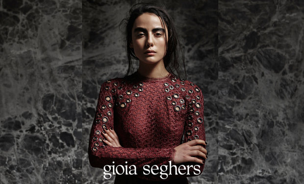 Visuel du projet Gioia Seghers - new autumn/winter 2015 collection
