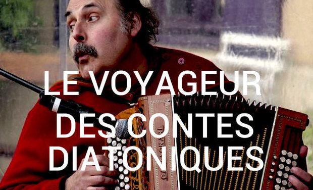 Project visual Marc Perrone, le voyageur des contes diatoniques