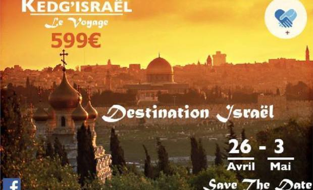 Visueel van project Voyage Kedge'Israël
