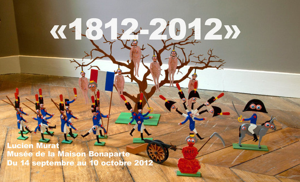 Project visual Exposition 1812-2012 par Lucien Murat