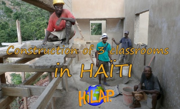 Visueel van project Construction of 3 classrooms in Haïti