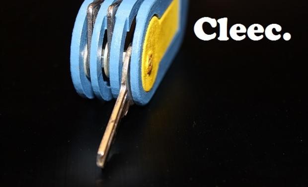 Project visual Cleec. le porte clés pratique