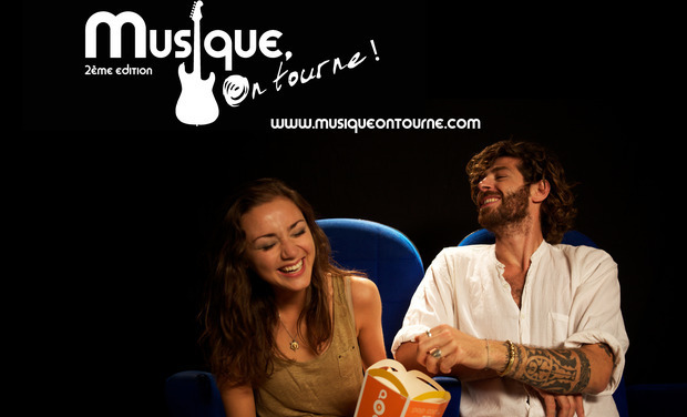 """Project visual """"Musique, On tourne!"""", le festival de Musique et Cinéma"""