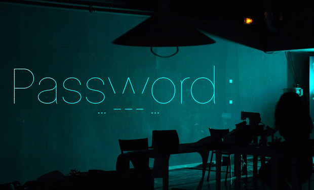 Project visual PASSWORD : ... - - - ... (s.o.s)