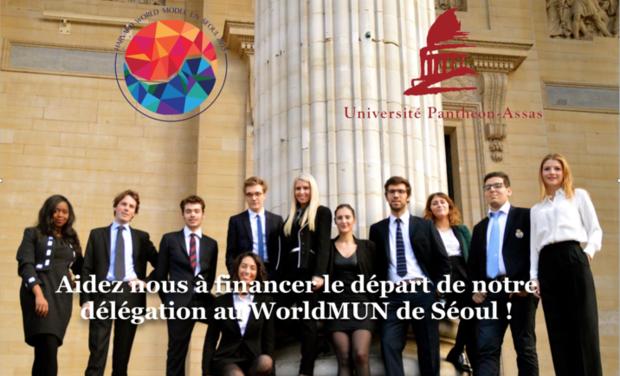 Visueel van project Délégation de l'université Panthéon-Assas au WorldMUN de Séoul 2015