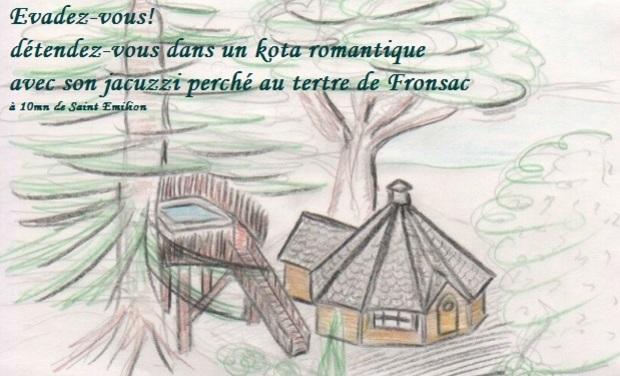 Visueel van project Séjour Insolite en amoureux sur le tertre de Fronsac
