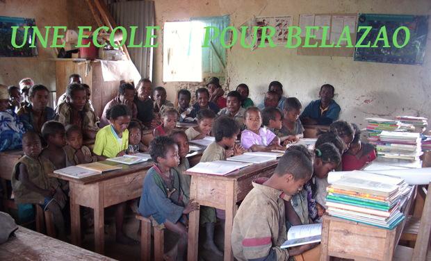 Visueel van project Une école pour Belazao, 2015