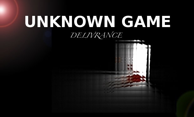 Visueel van project Unknown Game