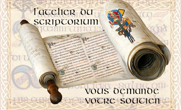 Project visual Réalisation d'un codex médiéval et d'estampes