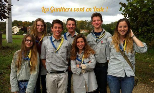 Visuel du projet Les Gunthers vont en Inde !