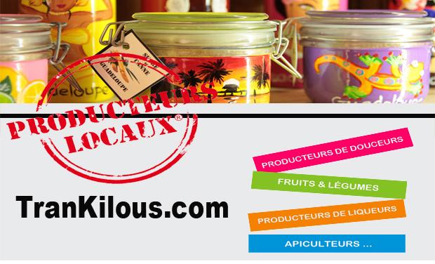 Visuel du projet TranKilous, la grande épicerie du terroir Antillais