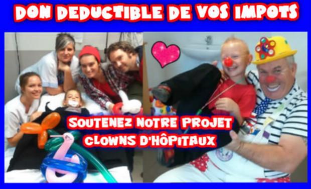 """Project visual distributeur de joie dans les hôpitaux """"don déductible"""""""