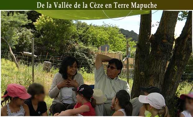 Visueel van project De la vallée de la Cèze en terre   Mapuche