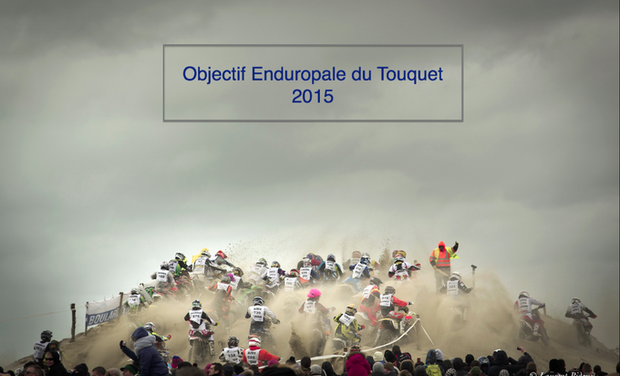 Project visual Objectif Enduropale Du Touquet 2015