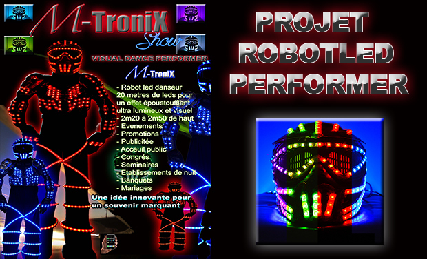 Visuel du projet M-TRONIK MAGIC-ROBOT-DANCE