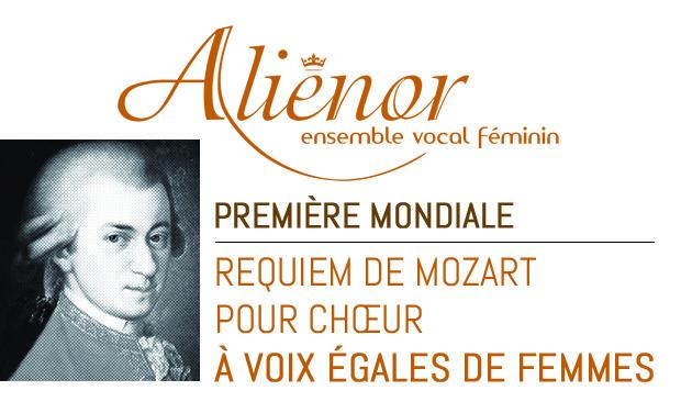 Visuel du projet ALIENOR : le Requiem de Mozart au Féminin !