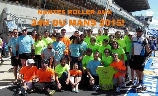 Visuel du projet 24H du Mans Rollers 2015
