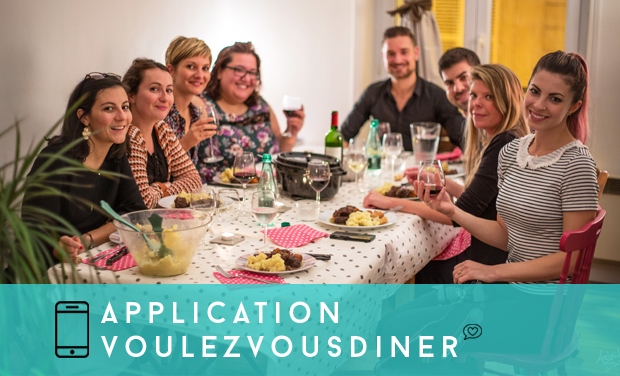 Project visual VoulezVousDiner Mobile