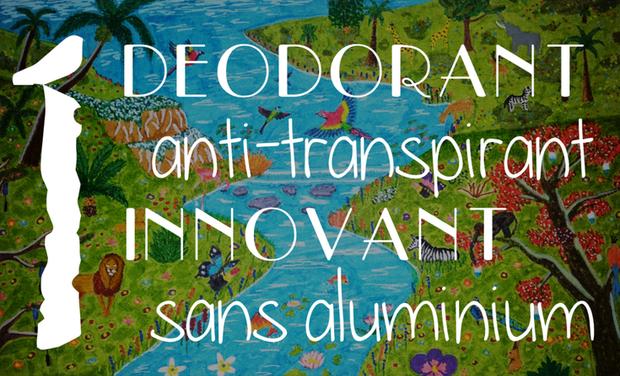 Visuel du projet An innovative non-aluminium antiperspirant / Un déodorant anti-transpirant innovant, sans aluminium