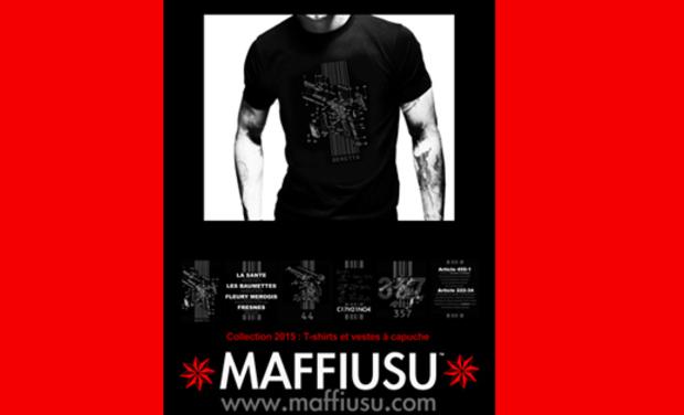 Project visual MAFFIUSU : Collection de Prêt à porter Banditisme