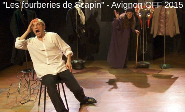 """Project visual """"Les fourberies de Scapin"""" - Avignon OFF 2015"""