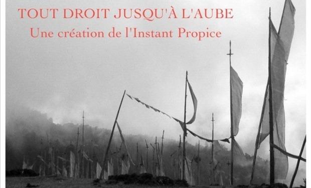 Project visual TOUT DROIT JUSQU'À L'AUBE