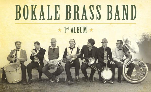 Visuel du projet Bokale Brass Band - 1er album + Clip