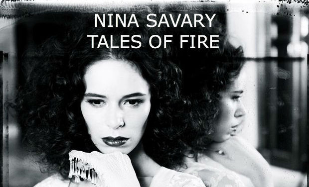 "Visueel van project ""Tales of fire"" 1er album de Nina Savary"
