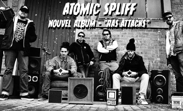 Visuel du projet Sortie de l'album d'Atomic Spliff