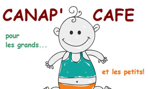 """Project visual """"Canap'Café"""" pour petits et grands"""