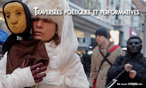 """Visuel du projet """"TRAVERSÉES POETIQUES ET PERFORMATIVES"""""""