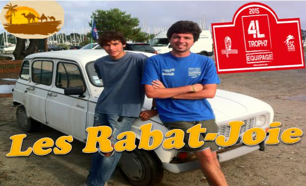 Visuel du projet Les Rabat-Joie - 4L Trophy 2015
