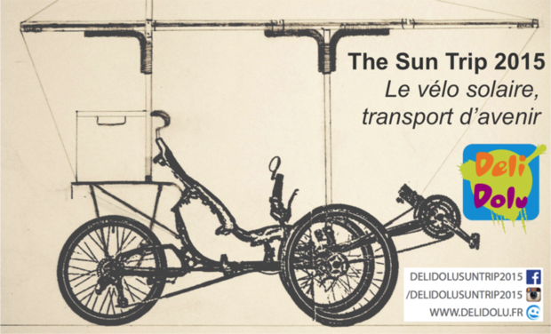Visueel van project Le vélo solaire, transport d'avenir - THE SUN TRIP 2015