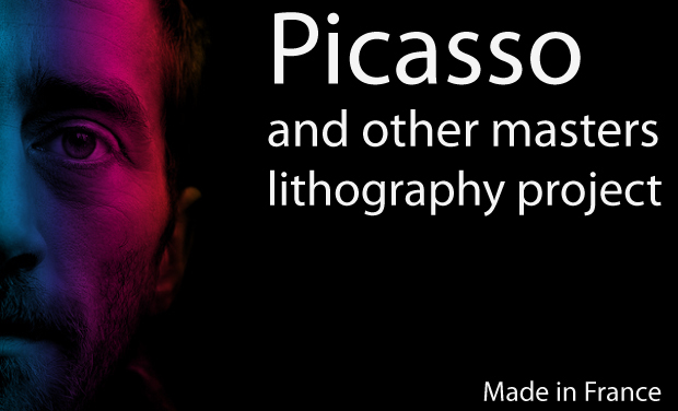 Visuel du projet Picasso and other masters lithography project