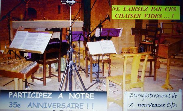 Project visual MUSICA ANTIQUA  A  35 ANS !!!