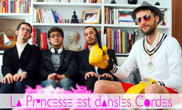 Project visual La Princesse est dans les cordes