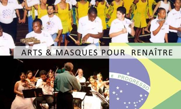 Visuel du projet Arts & Masques pour renaître