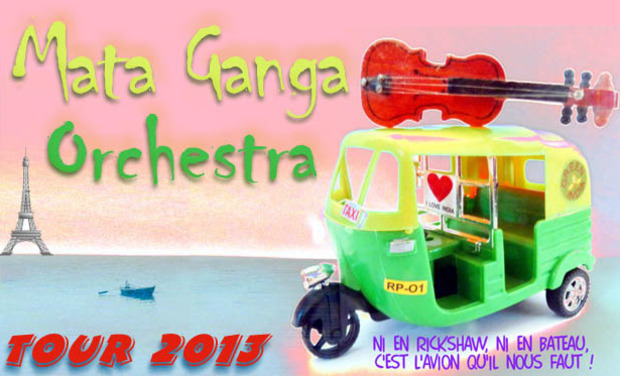 Project visual Mata Ganga Orchestra tour 2013