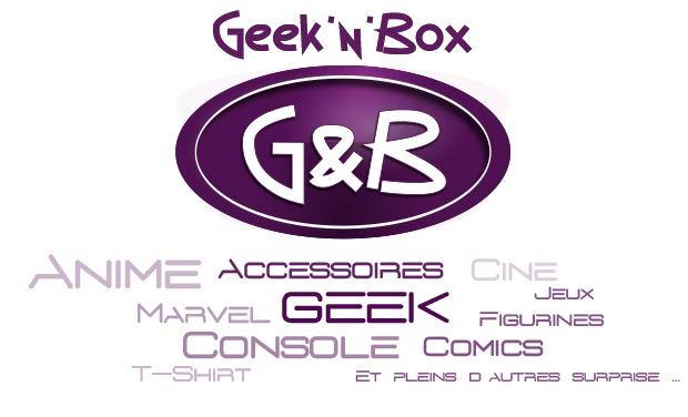 Visueel van project Geek'N'Box