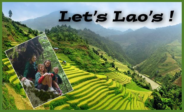 Visuel du projet Let's Laos !