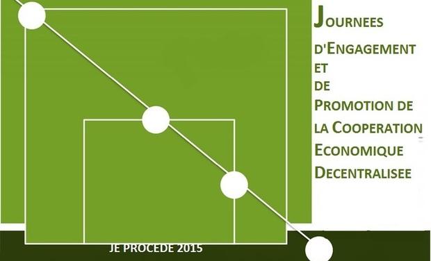 Project visual Journées d'Engagement et de Promotion de la Coopération Economique Décentralisée