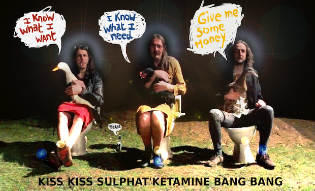 Visuel du projet Kiss Kiss Sulphat'Ketamine Bang Bang !!