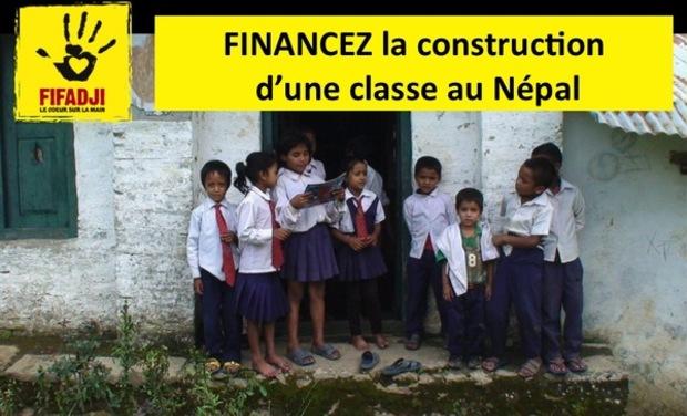 Project visual FIFADJI - FINANCEZ la construction d'une classe au Népal