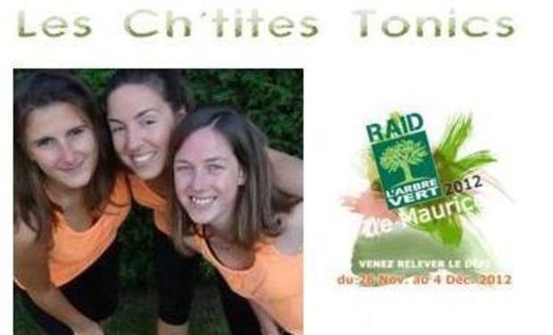 Project visual Ch'tites Tonics pour le Raid Amazones 2012