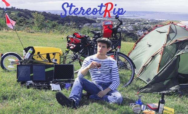 Visuel du projet StereotRip : Les clichés européens à vélo