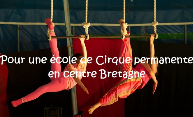 Project visual Ecole de cirque en centre bretagne