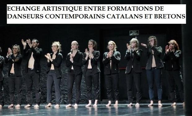 Visuel du projet Echange artistique entre formations de danseurs contemporains catalans et bretons
