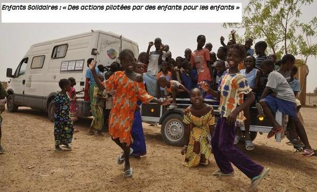 Visueel van project Enfants Solidaires