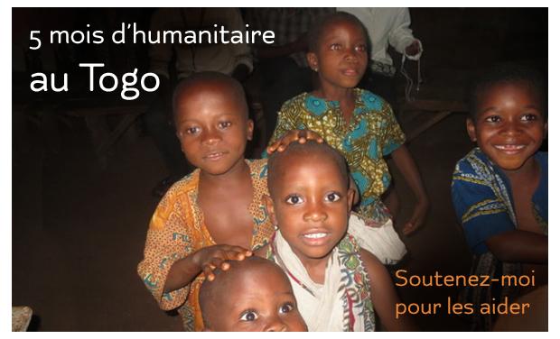 Visueel van project 5 mois d'humanitaire au Togo, soutenez-moi pour les aider...